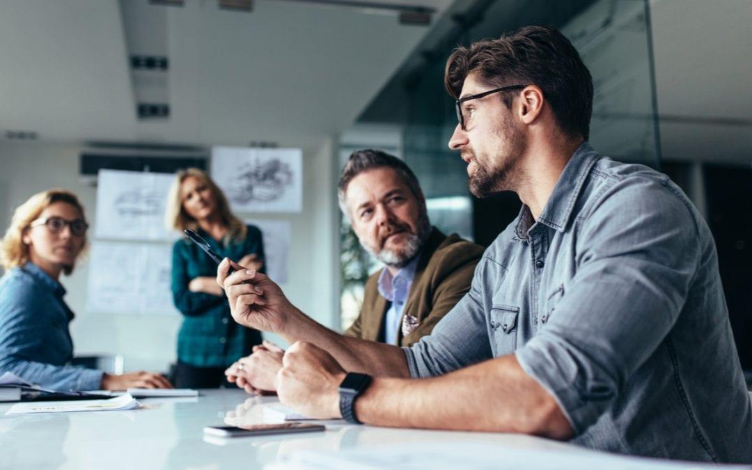 Im Unternehmen miteinander kommunizieren
