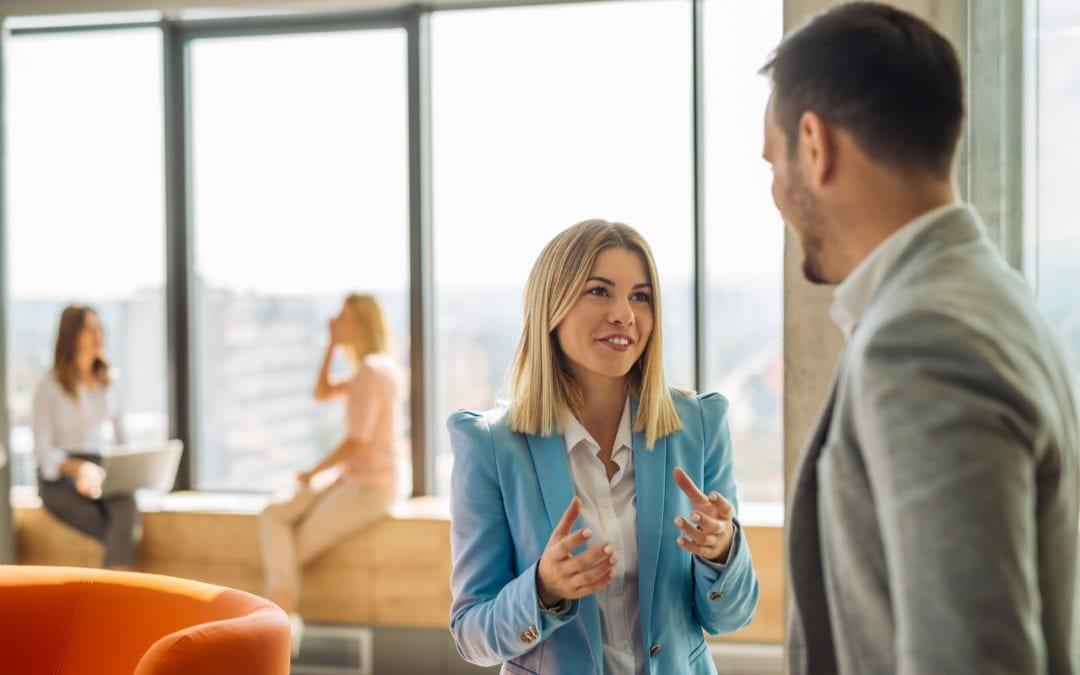 Verbale Kommunikation in Unternehmen